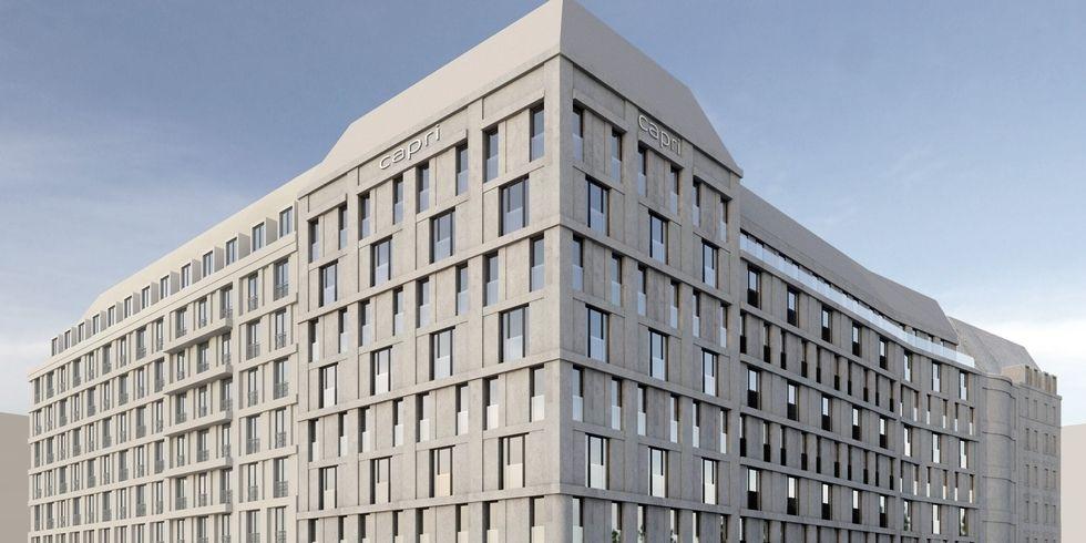 Zwei neue hotels f r leipzig allgemeine hotel und for Neue design hotels