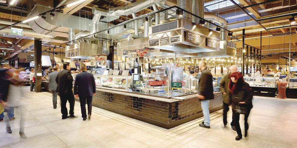 Real wagt markthallen spagat allgemeine hotel und for Koch krefeld