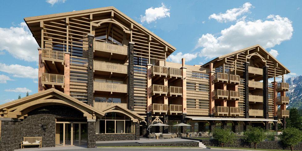 Am achensee entsteht eine suiten lodge allgemeine hotel for Design hotel achensee