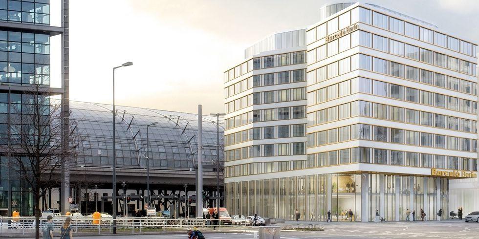Baustart f r barcel in berlin allgemeine hotel und for Design hotel kette
