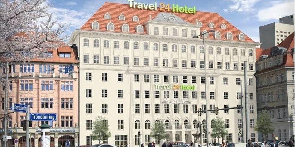 Travel24 hotel startet in leipzig allgemeine hotel und for Designhotel leipzig