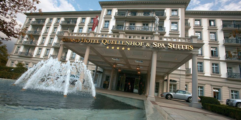 Grand Hotel Quellenhof Baut Zum 150 Jubil 228 Um Um