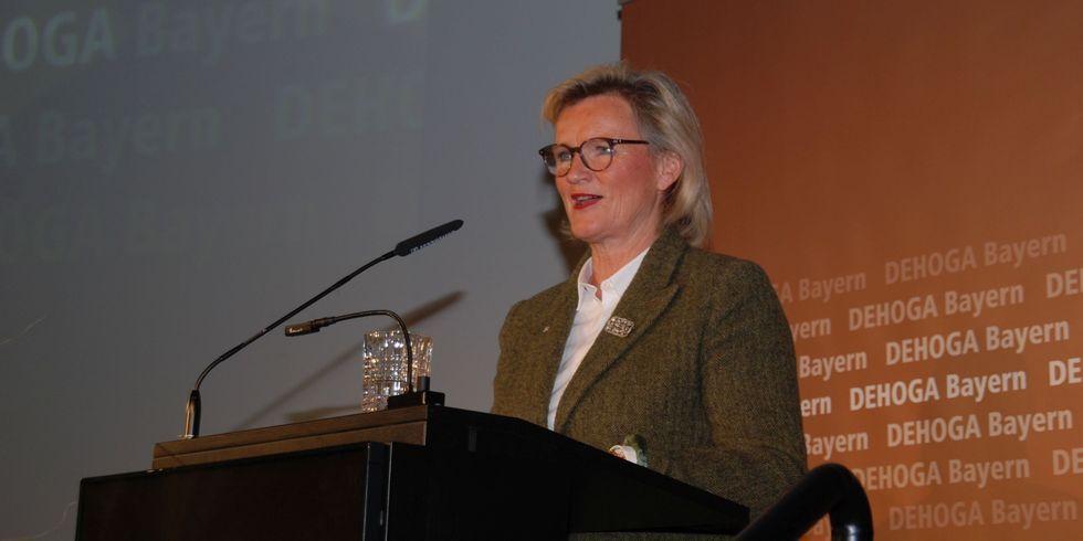 Angela Inselkammer, Präsidentin des DEHOGA Bayern: Sie hofft weiterhin auf Wertschätzung seitens der Landespolitik.