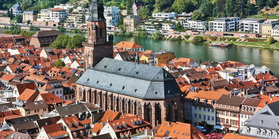 Begehrtes Pflaster: In der Stadt Heidelberg haben private Vermieter vom Touristenunterkünften derzeit gute Verdienstchancen