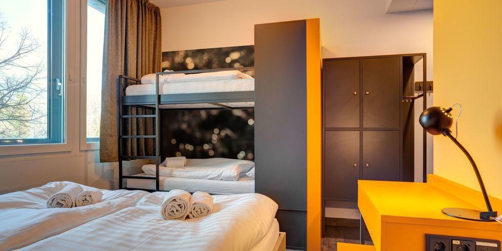 Meininger Mit Zweitem Hotel In Munchen Allgemeine Hotel Und