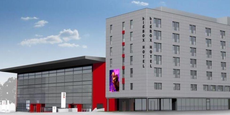 Big box hotel ffnet im herbst allgemeine hotel und for Big box hotel bomonti