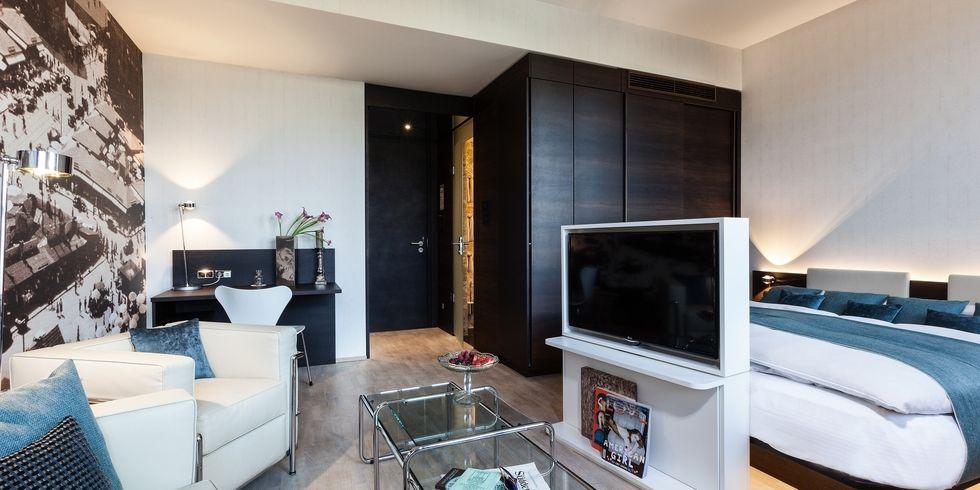 derag livinghotel greift thema viktualienmarkt auf. Black Bedroom Furniture Sets. Home Design Ideas
