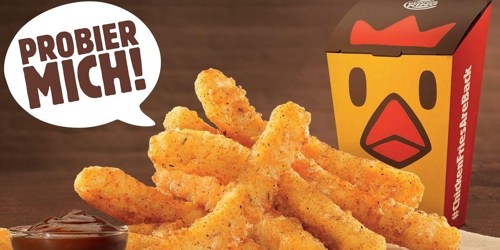 Burger King Deutschland Bietet Chicken Fries Allgemeine Hotel Und