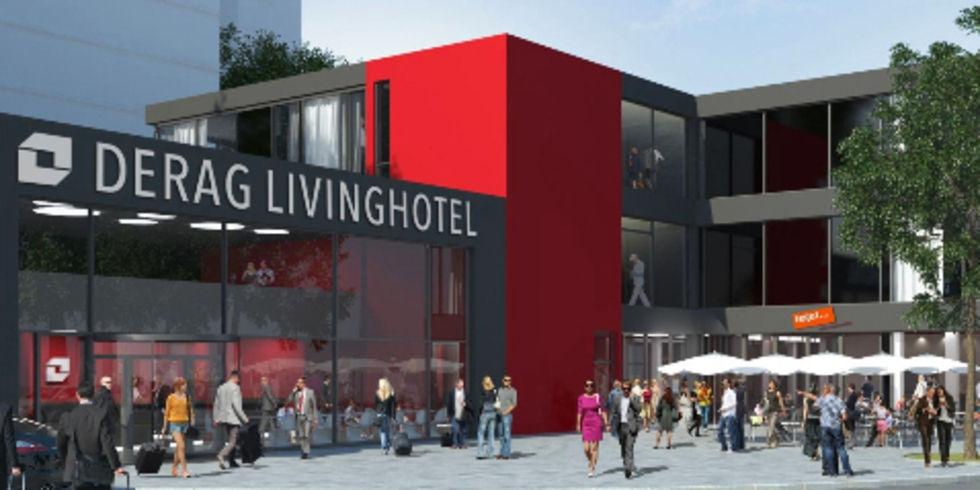 supermarkt tegut zieht ins derag livinghotel in frankfurt. Black Bedroom Furniture Sets. Home Design Ideas