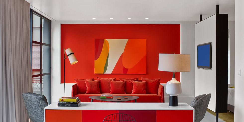 Boutique hotel in new york spielt mit farbe allgemeine for Design und boutique hotels dresden