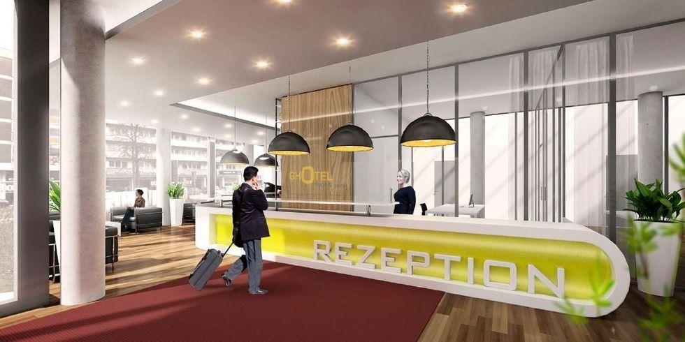 Bauarbeiten f r ghotel essen begonnen allgemeine hotel for Essen design hotel