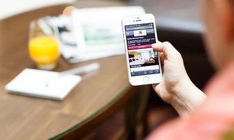 Zukunftsthema: Der Mobile-Check-in, hier das Tool von Marriott, kommt vor allem bei jungen Leuten gut an