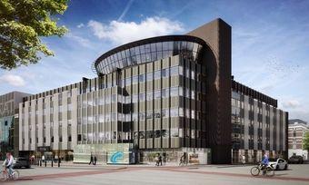 So soll's aussehen: Ein Rendering des geplanten Niu Hotels in Haarlem