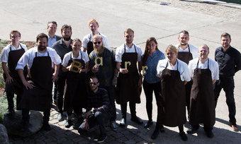 Voller Vorfreude: Das Team des neuen Restaurants Barr in Kopenhagen