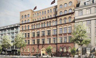 In Planung: Das in einem denkmalgeschützten Gebäude aus dem Jahr 1800 errichtete Hotel wird 126 Zimmer und Suiten haben