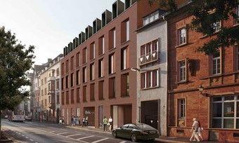So soll's aussehen: Das geplante Ibis Styles in Aschaffenburg