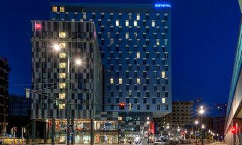 Neu in Wien: Das Hoteldoppel Novotel und Ibis im Quartier Belvedere