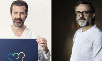 Fördern den Gastro-Nachwuchs: Andreas Caminada (links) und Massimo Bottura