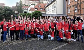 Haben Spaß: Talente aus allen Hotelbereichen haben am Best Talents Day in Quedlinburg teilgenommen