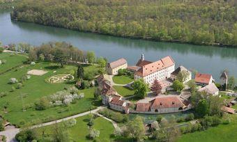 Ringhotel Schlosshotel Beuggen: Direkter Blick auf den Rhein