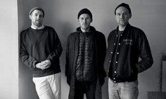 Das Team vom Berliner Restaurant Ernst: (von links) Spencer Christenson, Dylan Watson-Brawn, Christoph Geyler