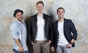 Umtriebiges Start-up-Team: Daniel Etti, Jannis Gerlinger, Patrick Deseyve stehen hinter Hotelshop.one