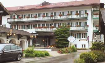 Zurzeit geschlossen: Das Hotel Bachmair am See