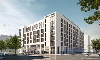 Hyatt Place Frankfurt von außen