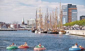 Begehrter Hotelstandort: In Kiel nimmt in den nächsten Jahren der Wettbewerb zu.