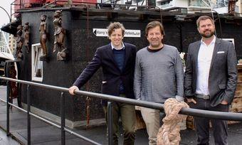 Starten Crowdinvesting-Projekt: (von links) Carl-Friedrich v. Stechow, Tim Wittenbecher und Henning Frank