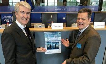 Fordern mehr Fairness: Christian de Barrin, CEO von HOTREC (links), und Markus Luthe, Vorsitzender der HOTREC Distribution Task Force