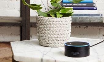 Bald auch in Hotelzimmern: Den Echo-Lautsprecher Alexa von Amazon gibt es jetzt mit Funktionen speziell für die Hotellerie