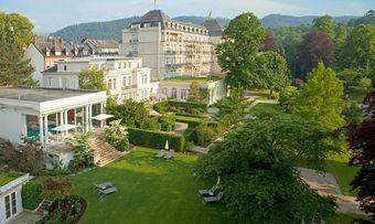 Weg vom steifen Image: Das Restaurant des Brenners Park-Hotel wird derzeit umgebaut und bekommt ab Herbst ein neues Konzept