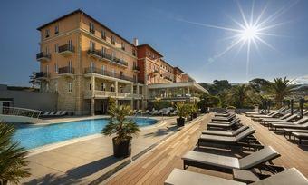 Präsentiert sich in neuem Glanz: Das Valamar Collection Imperial Hotel auf der Insel Rab