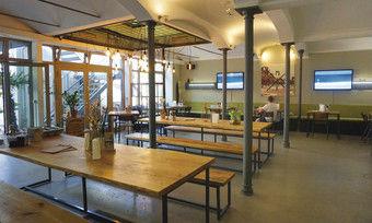 Komplett umgestaltet: Beim Interieur des Makamaka setzten die Betreiber auf Industrial Design