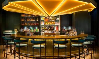 Herzstück: Die Theke der Bar Ory im Mandarin Oriental Munich