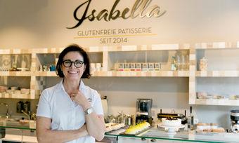 Erfolgreiches Start-up: Gründerin Isabella Krätz in ihrer glutenfreien Pâtisserie