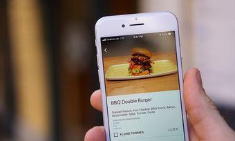 Per Fingerwisch zum Burger: Das verspricht das Tool von Orda