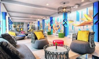 Bunt und pepping: Die Marke NYX Hotels, hier das Haus in Mailand