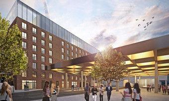 So soll's aussehen: Das geplante Uniq by Atlantic Hotel in Kiel