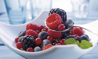Bunter Beerenmix: Tiefkühlware macht Köche von der Saison unabhängig