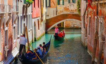 Gefahr durch zu viele Besucher: Venedig gilt als eines der ersten Opfer des Overtourism