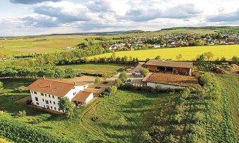 Leben mit der Natur: Das Biohotel Gänz (links) und das dazugehörige Bio-Weingut