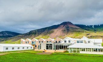 Faszinierende Vulkanlandschaft: Das Fosshotel Vatnajokull auf Island