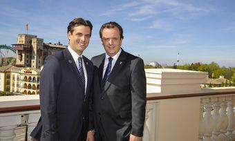 Geschäftsführende Gesellschafter des Europa-Park: Thomas Mack und Michael Mack.