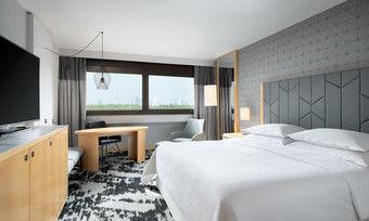 Neue Farben und Akzente: Eines der renovierten Premium-Zimmer