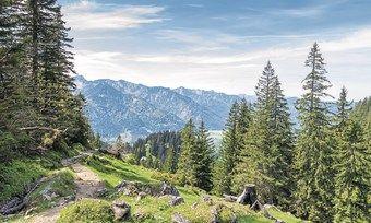 Reiseziel Gebirge: Bayerns Hoteliers hatten dieses Jahr zu Pfingsten bei den Kennzahlen die Nase vorn