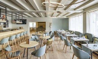Mit viel Licht: So sieht der künftige Barbereich im neuen Bonfanti Design Hotel aus