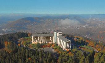 Traumhafter Blick: Das Ringberg Hotel in Suhl