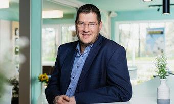 Zufrieden mit den Zahlen: B&B-Geschäftsführer Max Luscher